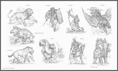 Chronomancer's Lost Legion by Rodrigo-Vega