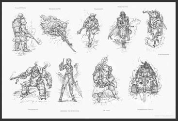 Chronomancer's Battlecry by Rodrigo-Vega