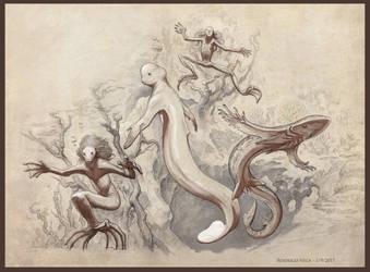 Pseudomermeids by Rodrigo-Vega