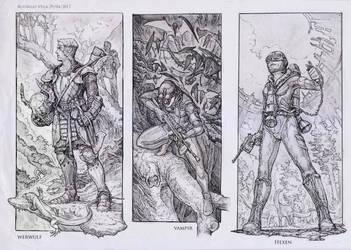 4th Reich Troops, the Contender series. by Rodrigo-Vega