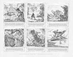 Eastern Dragons and Marine Beasts. by Rodrigo-Vega