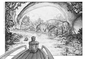River Scene. by Rodrigo-Vega