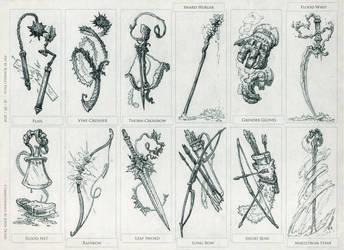 Quest Weapons Set by Rodrigo-Vega