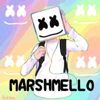 Marshmello by Pechika-f