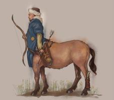 Khakas the centaur by sypsau