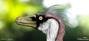 Linheraptor exquisitus portrait by MALvit