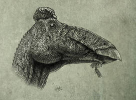 Edmontosaurus regalis by MALvit
