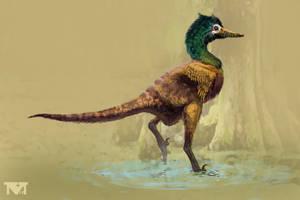 Halszkaraptor escuilliei. by MALvit