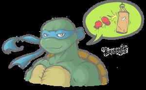 Leonardo - Keep Training by Kanogetz