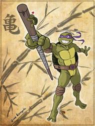 Donatello's Encounter by Kanogetz