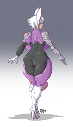 Rouge Redesign BACK - (COMMISSION) by Kanogetz