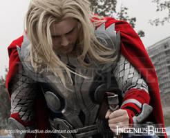 Thor - God of Thunder by IngeniusBlue