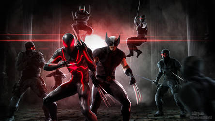 Scarlet Spider and Wolverine: Wrath by BMFreed