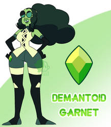 A - Demantoid Garnet by Seopai