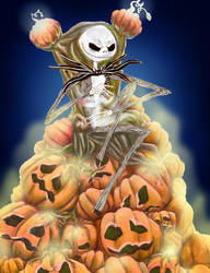 The Pumpkin King by Lily-the-Animator