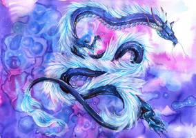 Ethereal Dragon by Isvoc