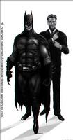 My ideal Batman by Sebastien-Ecosse
