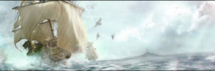 Ship by Sebastien-Ecosse