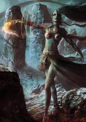 Reptilian Enchantress by Sebastien-Ecosse