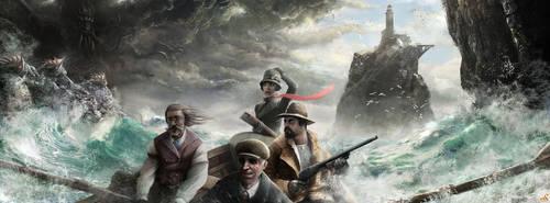 Rise of the Elders : Cthulhu by Sebastien-Ecosse