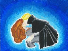 Draco and Hermione by Escape-Elixir