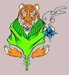 +Tiger+ by anthropophagite
