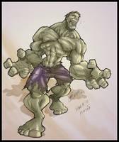 Hulk by osnaya