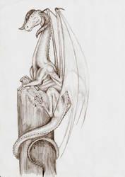 Dragon II by wilkolak3dh