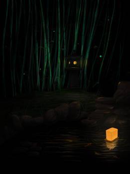 Japanese lantern by wilkolak3dh
