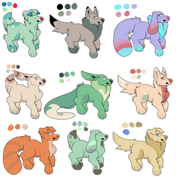 *Free!* Doggo Adopts (CLOSED) by nillaberry