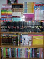My Manga Shelf by Wolfi-sama
