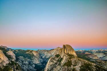 Yosemite - Glacier Point by FallingFeathers