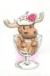 Chocolate Moose by duckgobananas