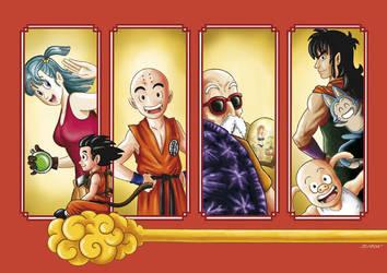 Tribute Dragon Ball by DynamicBrushStudio