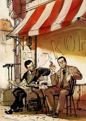 Poets and Vodka by kinnas