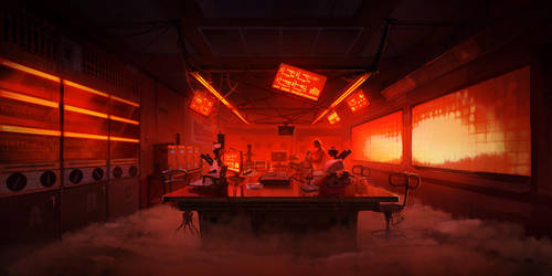Volta Noir - Laboratory by kinnas