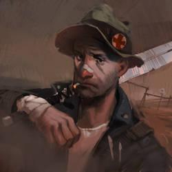 Wasteland Portrait 1 by kinnas