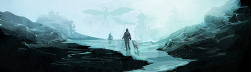dragons by kinnas