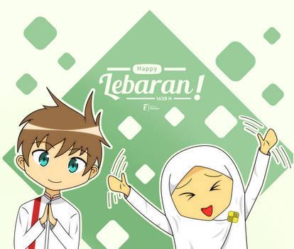 Happy Lebaran 1439 H! by iqbalFuutaro