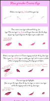 Step-by-Step basic lips by grimalkn
