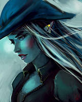 || Pirate in a Blue Phase by grimalkn