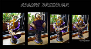 Asgore Dreemurr bust: COMMISSION by The-Replicant