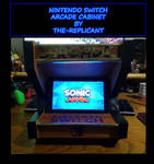 Nintendo Switch Arcade Cabinet: Sonic Mania theme by The-Replicant