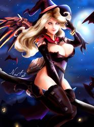 Halloween Mercy by NEETbi