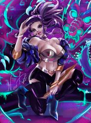K/DA Akali - League of Legends by NEETbi