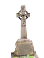 Cut out - Gothic Tomb Stone PNG by FP-Digital-Art