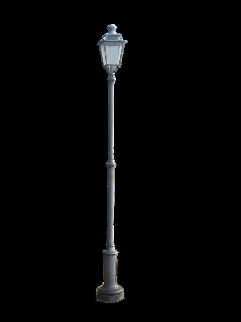 Cut Out - Street Lamp by FP-Digital-Art