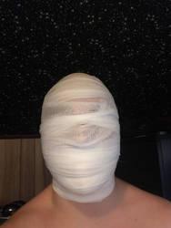 My Mummified Head by BlackStarWolf100
