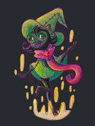 Fluffy Son: DeltaRune Ralsei by PrincessScissors