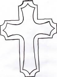Cross Tattoo by Mesaswah